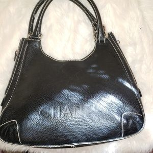 CHANEL Bags - CHANEL Black Caviar Leather Shoulder Bag